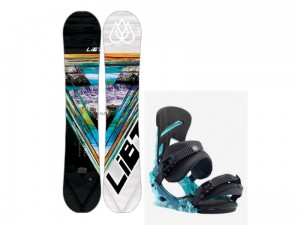 Zestaw LIB TECH R-RICE HP C2X + BURTON MISSION