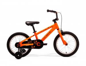 "MERIDA 2019 M-BIKE KID 16 8"" NEON ORANGE/BLACK"
