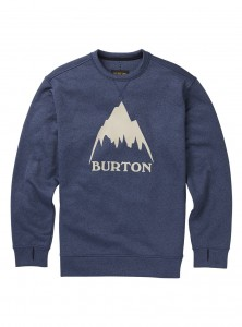 BLUZA BURTON 2019 MB OAK CREW MOOD INDIGO HEATHER