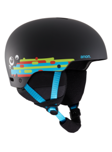 KASK JUNIORSKI Anon'20 RIME 3 HURRRL BLACK EU